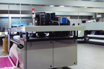 large format printing machine
