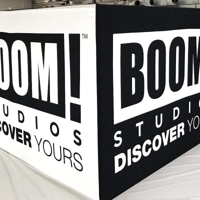 Boom Hanging Banner