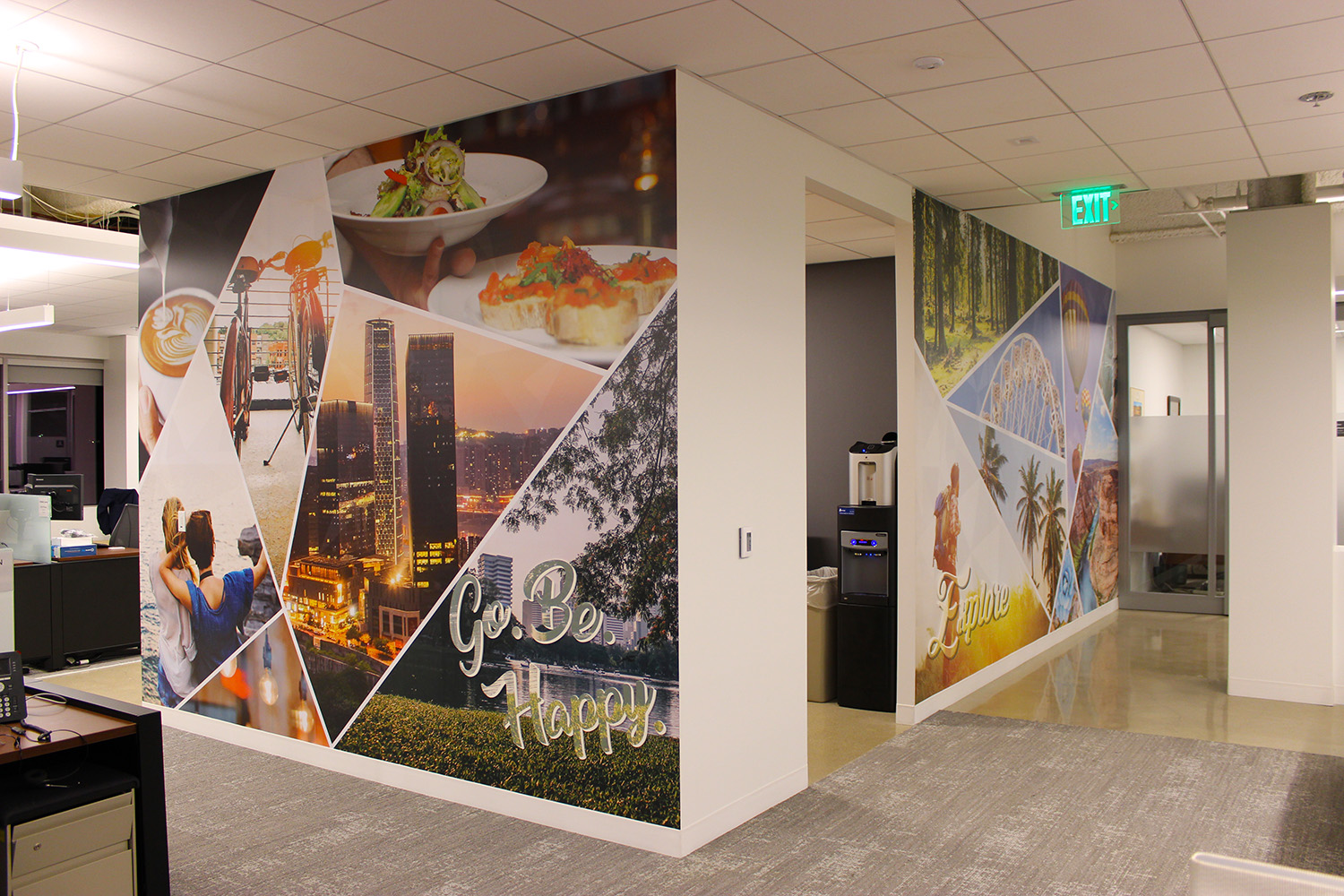 Custom Wall Murals For The Office Home Retail Printed
