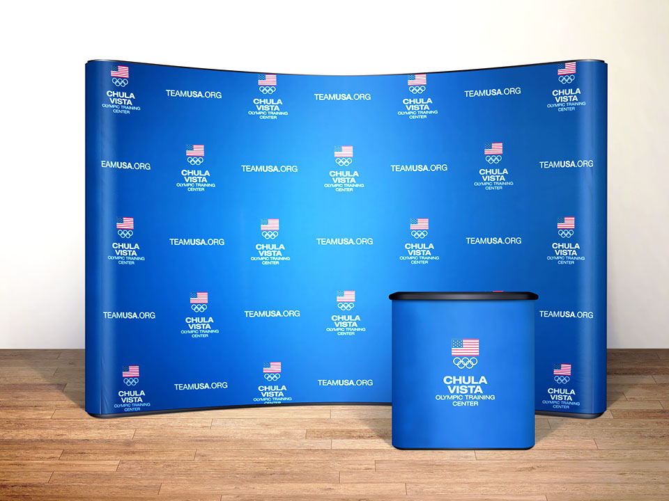 Media Backdrops Custom Printed For Any Event
