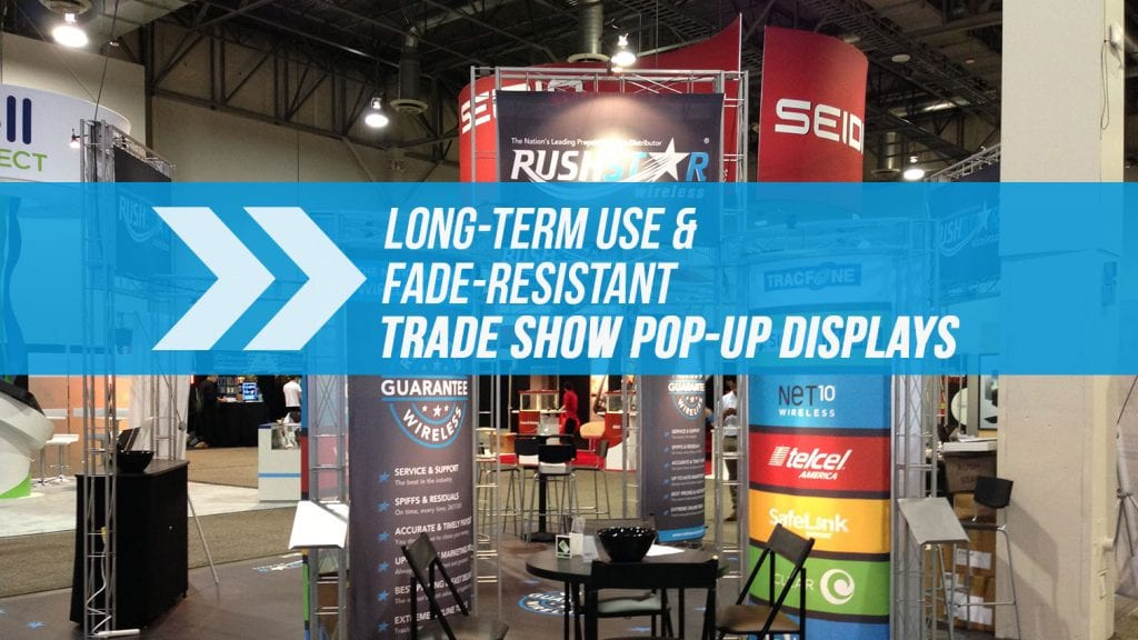 Trade Show Pop Up Display