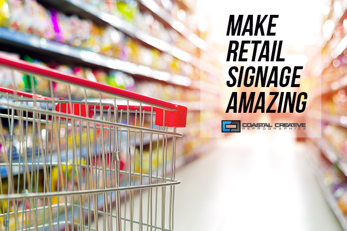 5 tips for amazing retails signs