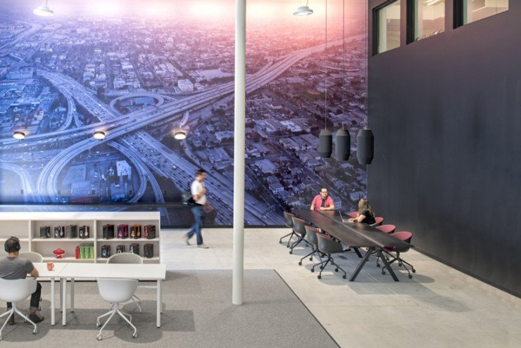 Large office Mural beats by dre