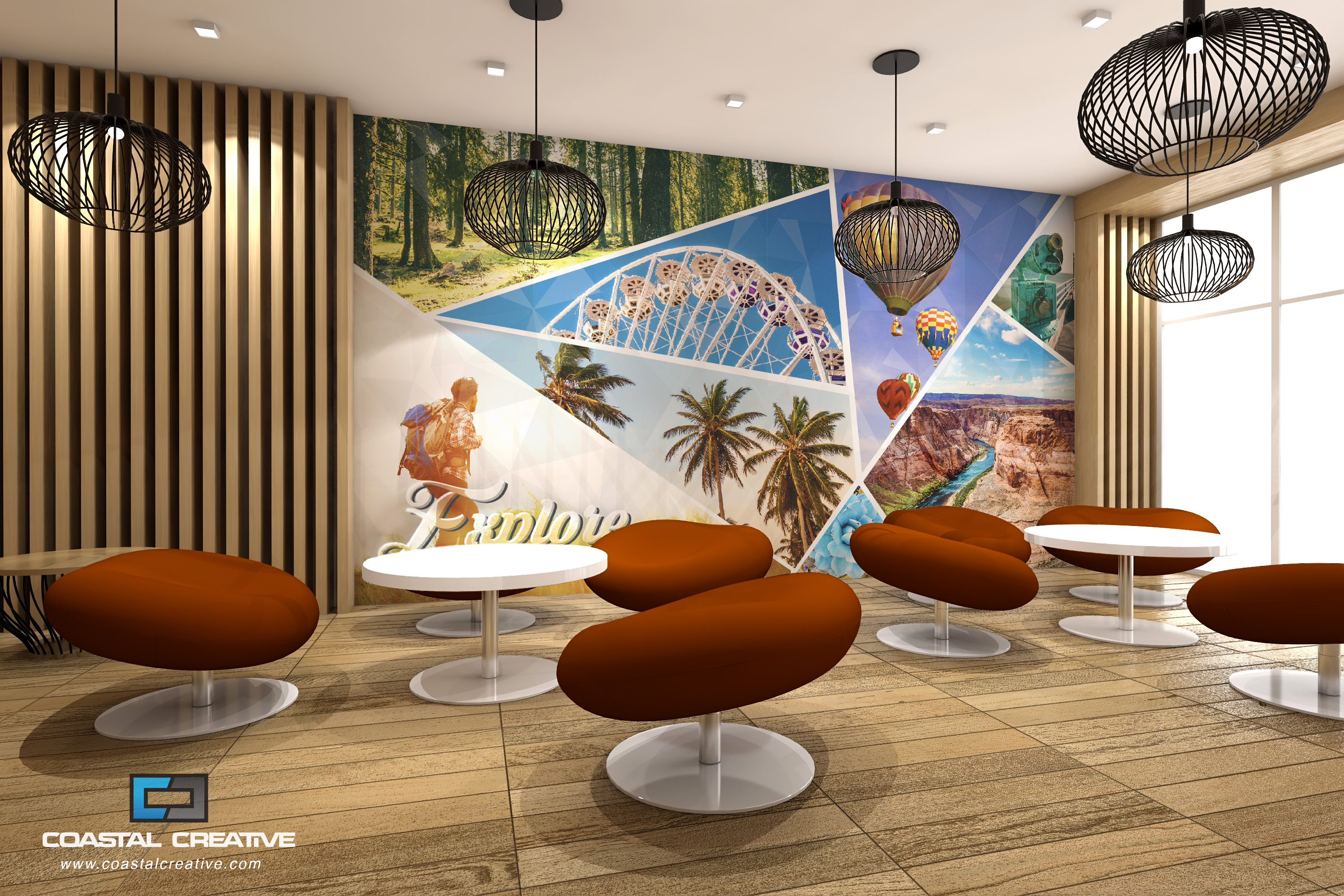 PVCFree Wall Murals Installation HP PVCFree Wallpaper Printing