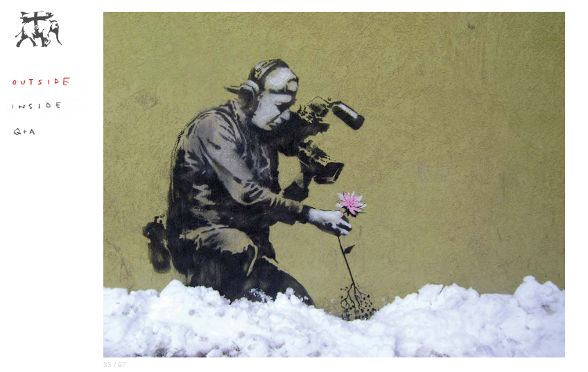 banksy graffiti wall mural inspiration