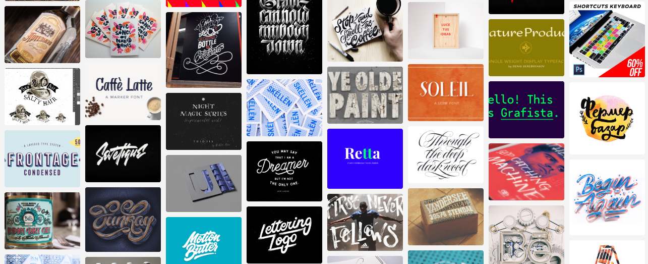 BeType Wall Mural Typography Inspiration