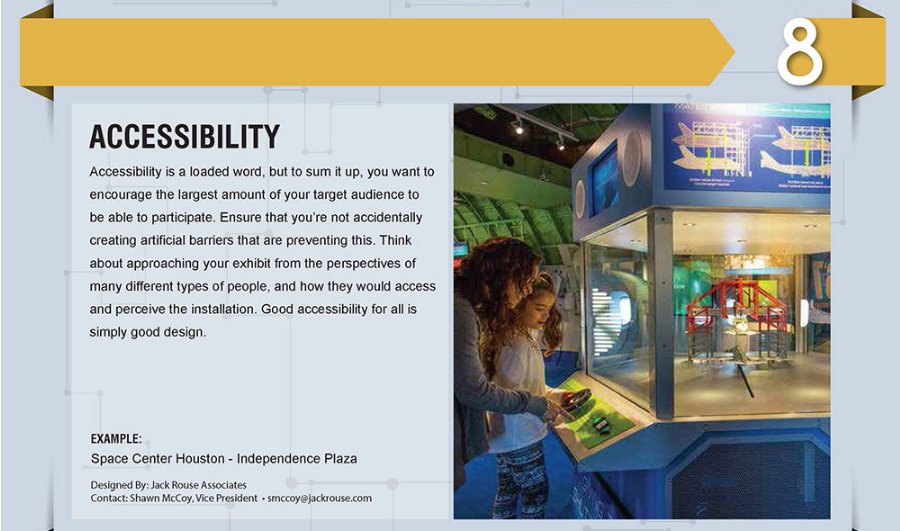 Accessibility in Experiential Design