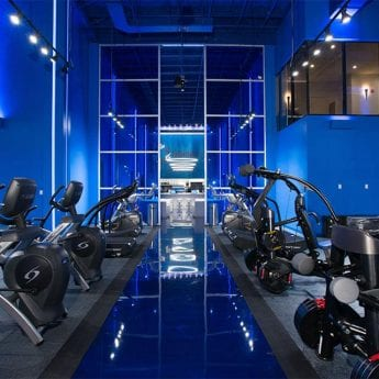 gym design trends dramatic
