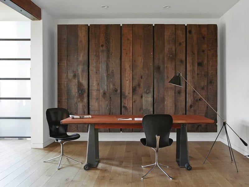 Attrayant Reclaimed Wood Accent Wall