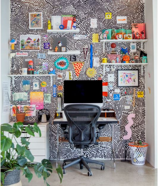 9 Accent Wall Ideas For Offices And Businesses Coastal Creative