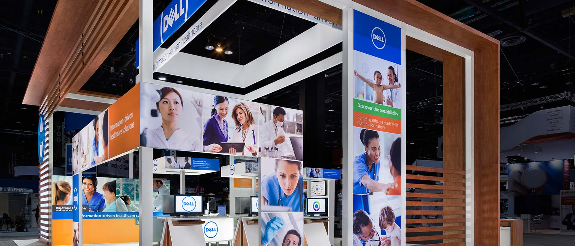 Dell Medical IT Trade Show Banners