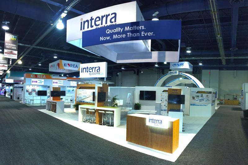 trade show graphic displays