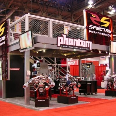 trade show displays automotive