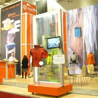 Energetic Trade Show Graphics