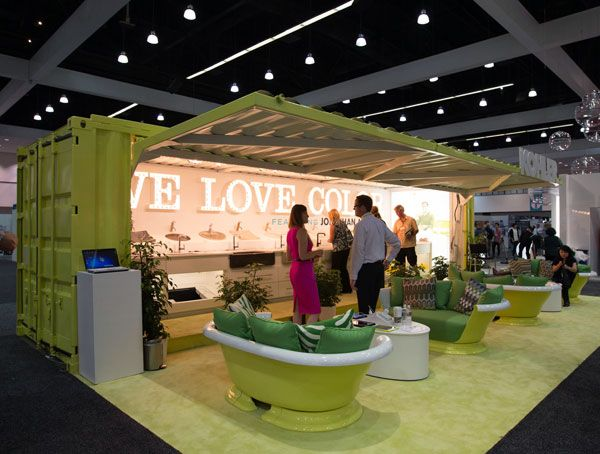 seating trade show booths